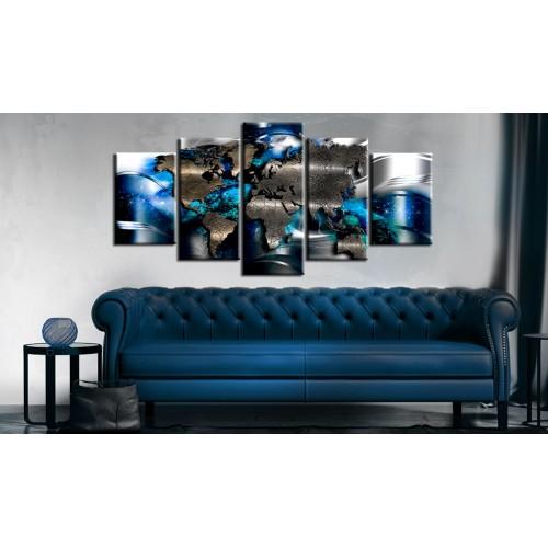 Quadro - Con accento azzurro - Quadri e decorazioni