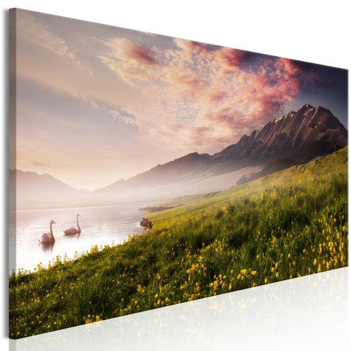 Quadro - Sayram Lake (1 Part) Narrow - Quadri e decorazioni
