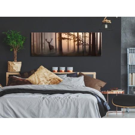 Quadro - Morning (1 Part) Narrow Brown - Quadri e decorazioni
