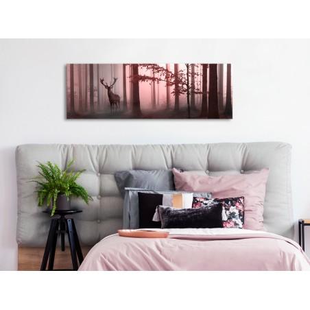 Quadro - Morning (1 Part) Narrow Pink - Quadri e decorazioni