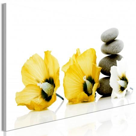 Quadro - Calm Mallow (1 Part) Narrow Yellow - Quadri e decorazioni