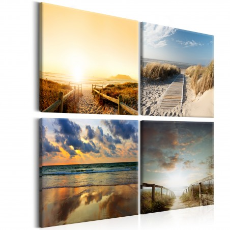 Quadro - Sulla spiaggia dei sogni - Quadri e decorazioni