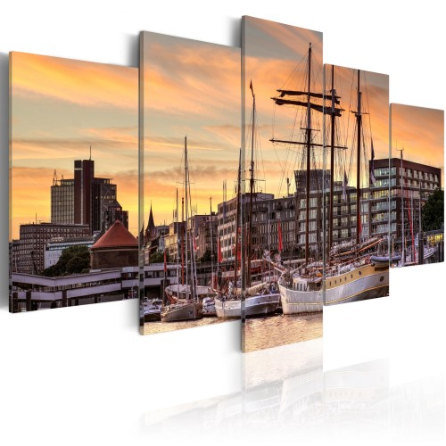 Quadro - Port of Hamburg - Quadri e decorazioni