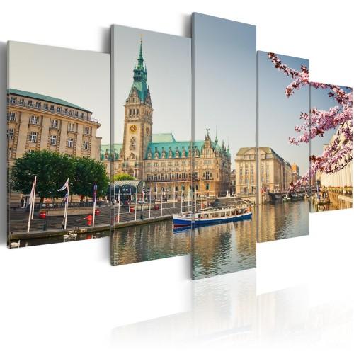 Quadro - Spring in Hamburg - Quadri e decorazioni