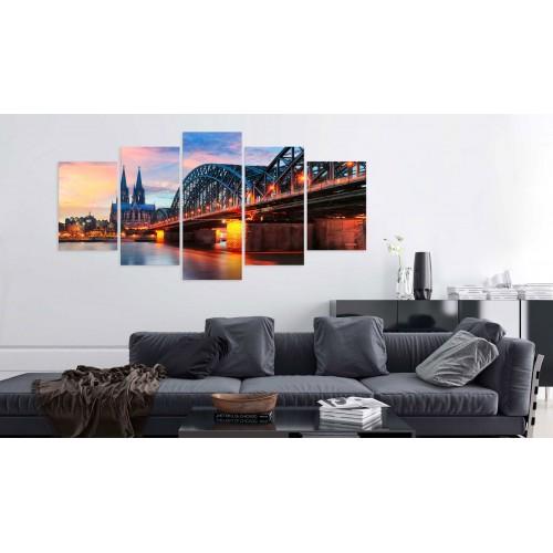 Quadro - Evening in Cologne - Quadri e decorazioni