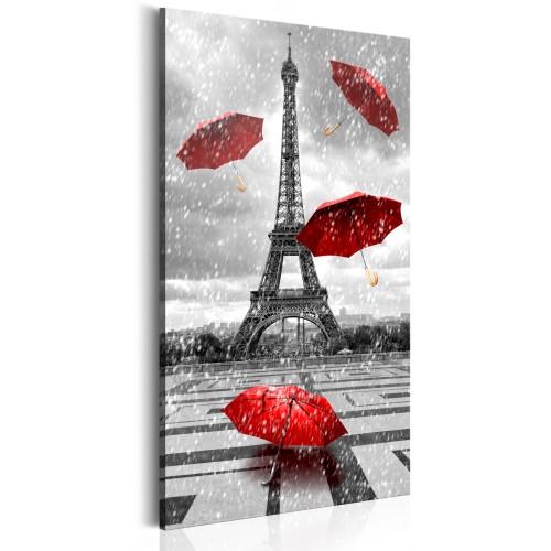 Quadro - Paris: Red Umbrellas - Quadri e decorazioni