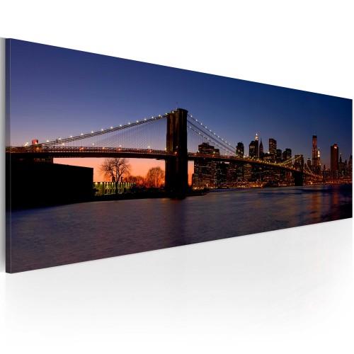 Quadro - Ponte di Brooklyn - panorama - Quadri e decorazioni