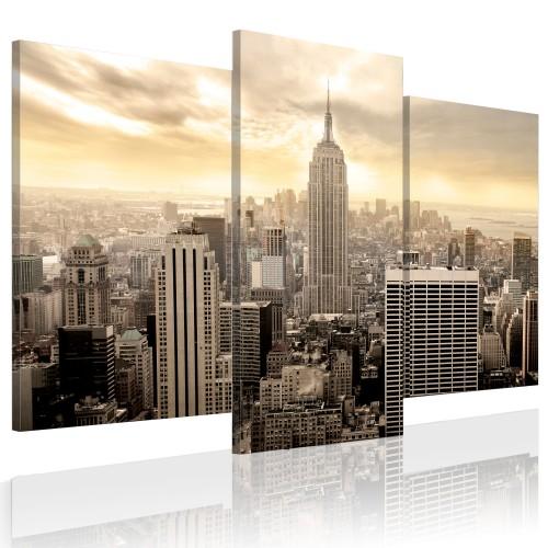 Quadro - New York al finire del giorno - Quadri e decorazioni