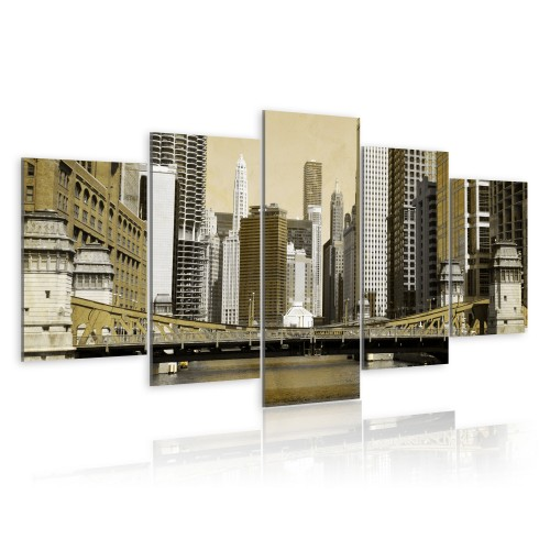 Quadro - New York: vintage - Quadri e decorazioni