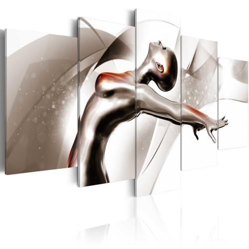 Quadro - Danza d'oro: Lei - Quadri e decorazioni