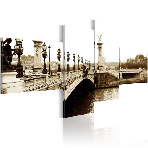 Quadro - Ponte Alessandro III di Parigi - Quadri e decorazioni