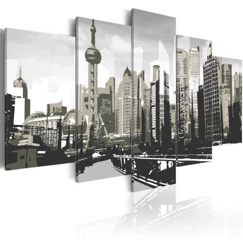 Quadro - Shanghai: la piu' grande citta' cinese - Quadri e decorazioni