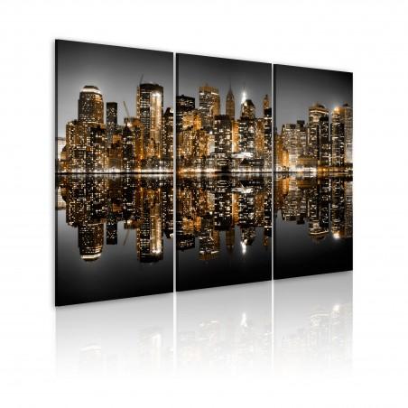 Quadro - Mare di luci: NYC - Quadri e decorazioni