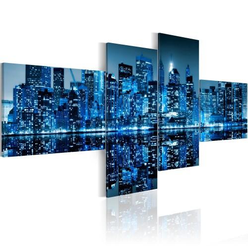 Quadro - Grattacieli azzurri di New York - Quadri e decorazioni