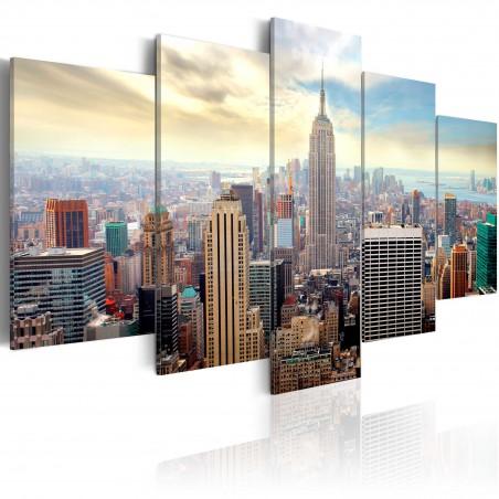 Quadro - Mattinata a New York - Quadri e decorazioni