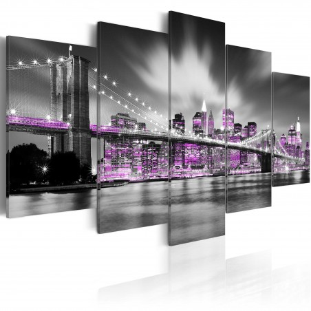 Quadro - New York color ametista - Quadri e decorazioni