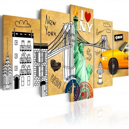 Quadro - Per amore di New York - Quadri e decorazioni