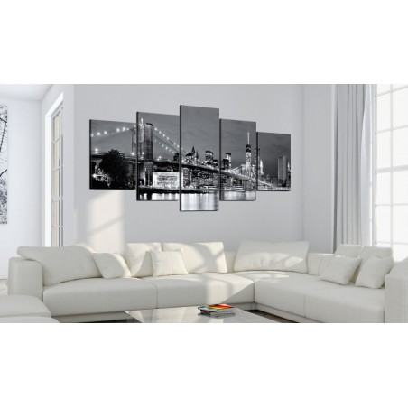 Quadro - Sguardo in bianco e nero - Quadri e decorazioni