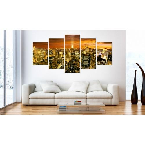 Quadro - New York: ambra - Quadri e decorazioni