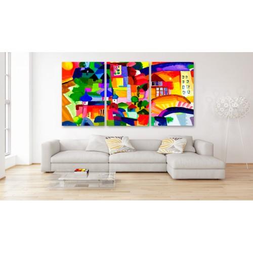 Quadro - Colourful Town - Quadri e decorazioni