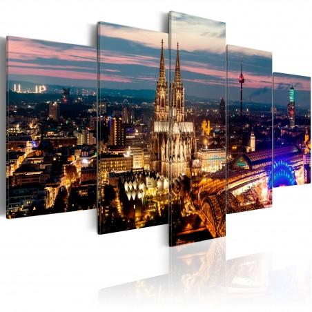 Quadro - Koeln: Night Panorama - Quadri e decorazioni