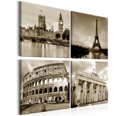 Quadro - European Capitals - Quadri e decorazioni