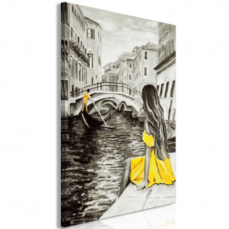 Quadro - Far Dreams (1 Part) Vertical Yellow - Quadri e decorazioni