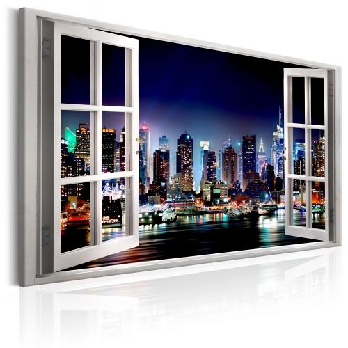 Quadro - Window: View of New York - Quadri e decorazioni