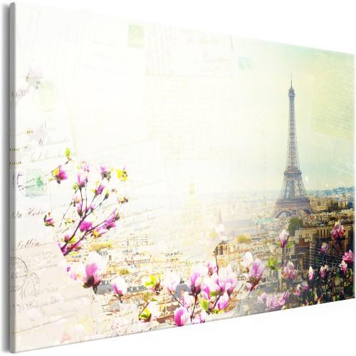 Quadro - Postcards from Paris (1 Part) Wide - Quadri e decorazioni