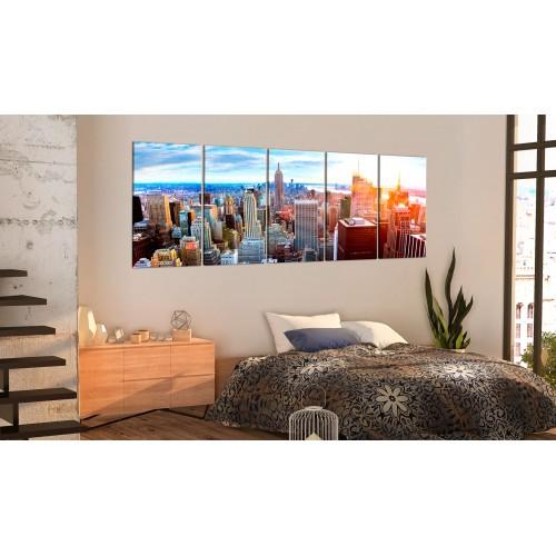 Quadro - New York: Sunrise - Quadri e decorazioni