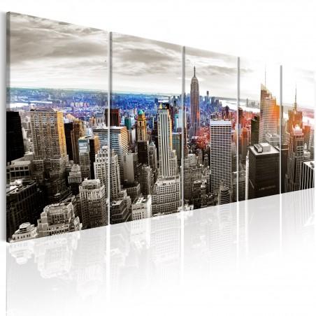 Quadro - New York: Grey Tower Blocks - Quadri e decorazioni