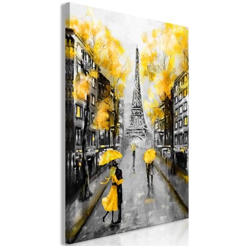 Quadro - Autumn in Paris (1 Part) Vertical - Quadri e decorazioni