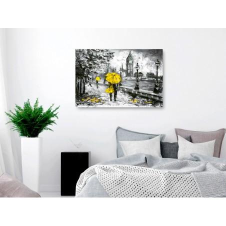 Quadro - Walk in London (1 Part) Wide Yellow - Quadri e decorazioni