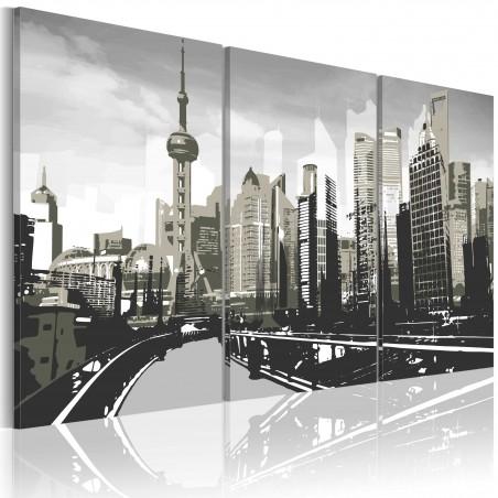 Quadro - Shanghai grigia - Quadri e decorazioni
