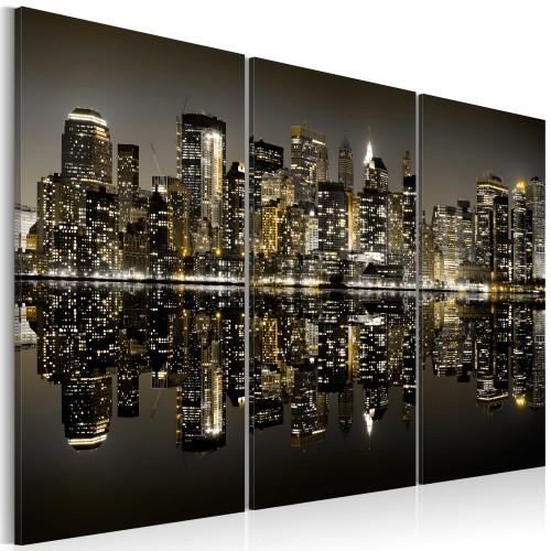 Quadro - New York dorata - Quadri e decorazioni