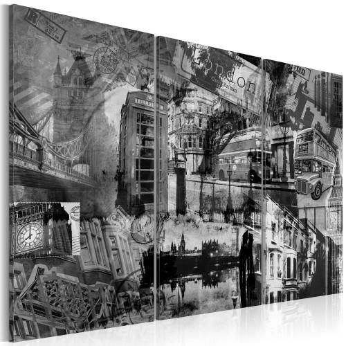 Quadro - L'essenza di Londra: trittico - Quadri e decorazioni