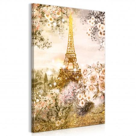 Quadro - Summer in Paris (1 Part) Vertical - Quadri e decorazioni
