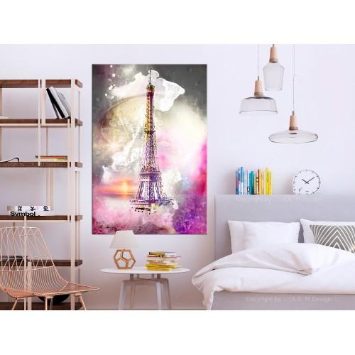 Quadro - Fairytale Paris (1 Part) Vertical - Quadri e decorazioni