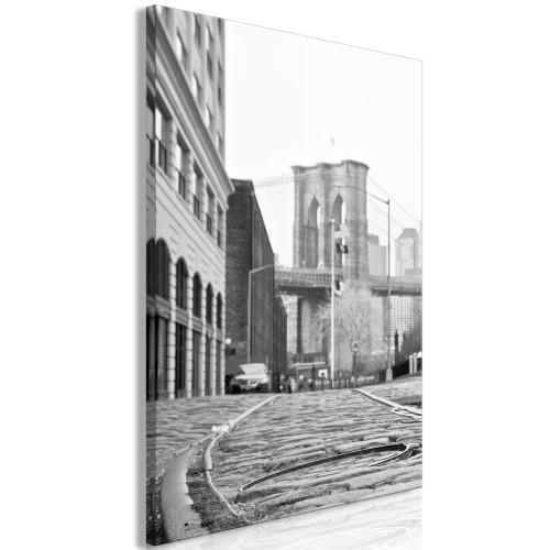 Quadro - Brooklyn Bridge (1 Part) Vertical - Quadri e decorazioni