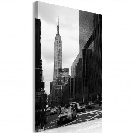 Quadro - Street in New York (1 Part) Vertical - Quadri e decorazioni