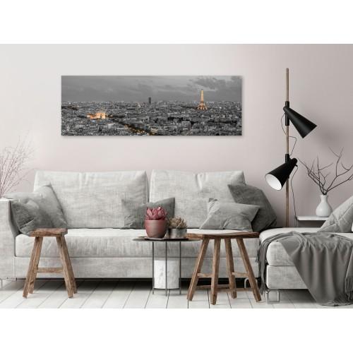 Quadro - Panorama of Paris (1 Part) Narrow - Quadri e decorazioni