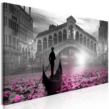 Quadro - Magic Venice (1 Part) Narrow Grey - Quadri e decorazioni