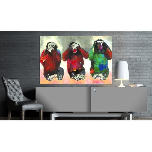 Quadro - Three Wise Monkeys - Quadri e decorazioni