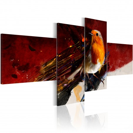 Quadro - Uccellino in quattro parti - Quadri e decorazioni