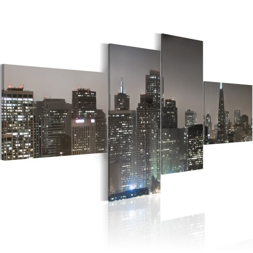 Quadro - San Francisco di sera - Quadri e decorazioni