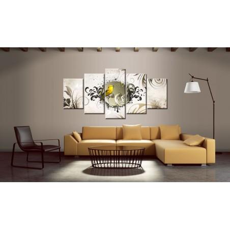Quadro - Uccello giallo - Quadri e decorazioni