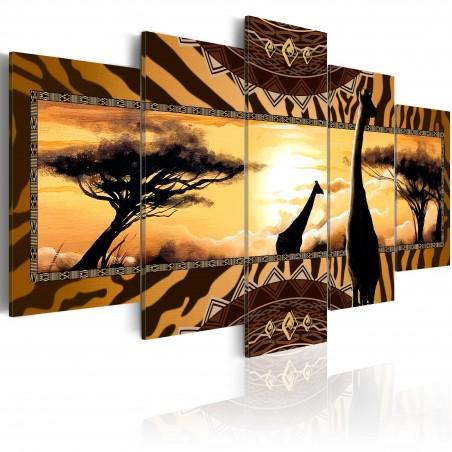 Quadro - African giraffes - Quadri e decorazioni