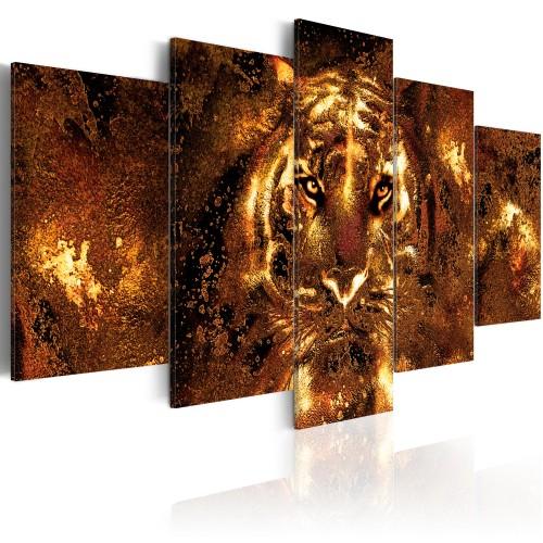 Quadro - Golden Tiger - Quadri e decorazioni