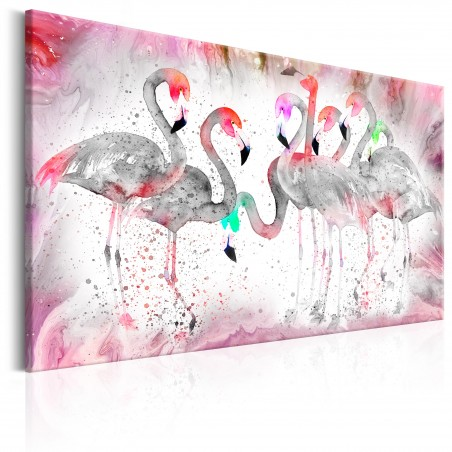 Quadro - Flamingoes Family - Quadri e decorazioni