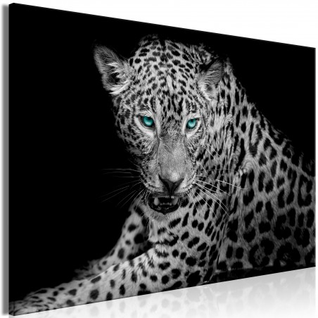 Quadro - Leopard Portrait (1 Part) Wide - Quadri e decorazioni